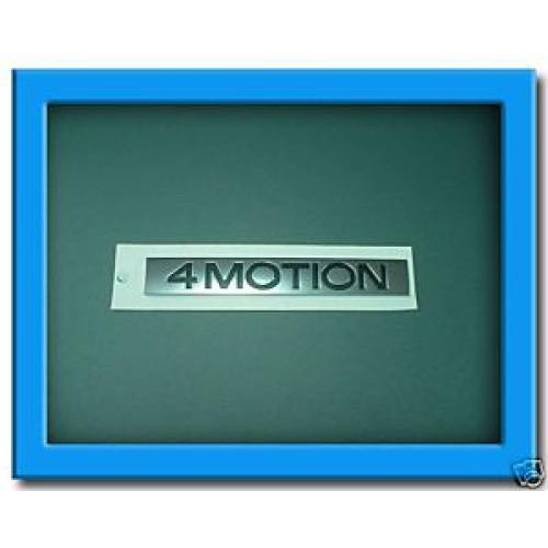 4Motion badge Plak