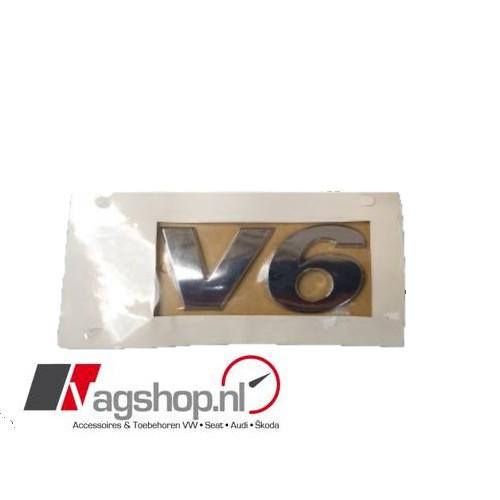 Amarok V6 Plak embleem achterkant