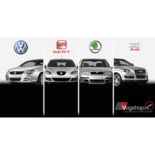 Audi / VW / Seat / Skoda Voertuig optielijst (PDF of Word)